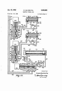 Patent Us2582855 - Electric Tunnel Kiln