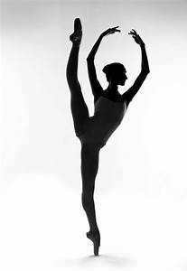 Ballet Dancer Silhouette - Cliparts.co