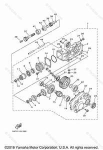 Yamaha Atv 2014 Oem Parts Diagram For Drive Shaft