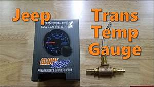Jeep Cherokee Transmission Temperature Gauge Install
