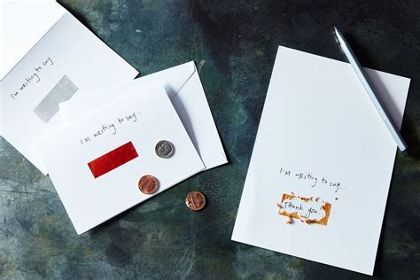 DIY Scratch Off Paint Stationery