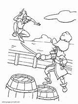 Coloring Disney Pages Villains Hook Captain Printable Niceladiesnaughtybooks sketch template