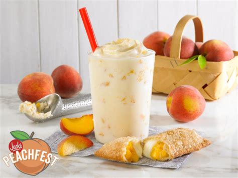 Jack Celebrates National Peach Month With Limited Time