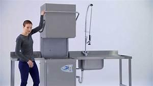 Spülmaschine Für Einbauküche : classeq haubensp lmaschine f r die gastronomie youtube ~ A.2002-acura-tl-radio.info Haus und Dekorationen