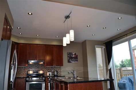 kitchen pot light layout top five renovations that increase property value 5536