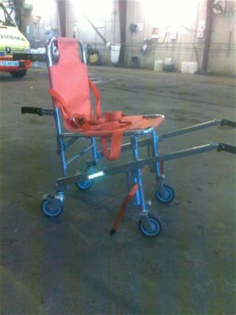 used ferno model 40 stair chair ambulance cot for sale