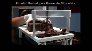 Picador Triturador Manual De Chocolate Em Barra