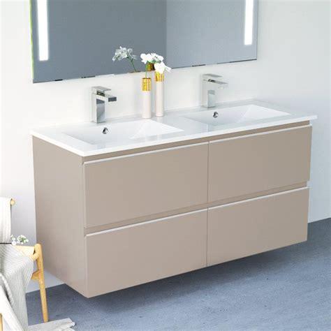 inglet meuble salle de bain brillants laque  finitions