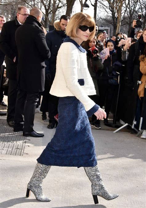 Anna Wintour Can Stop Wearing These Amazing Boots