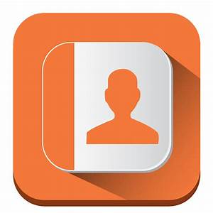 Contacts Icon | Long Shadow iOS7 Iconset | PelFusion