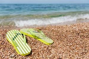 Flip Flops On The Beach Wallpaper | www.imgkid.com - The ...