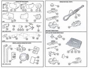 Allister Garage Door Opener Parts Gear
