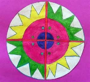 Radial Balance Art