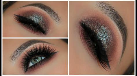 toned blue brown smokey eye amys makeup box youtube
