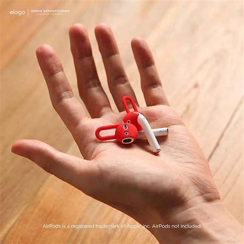 elago silicone airpods ear hooks gadgetsin