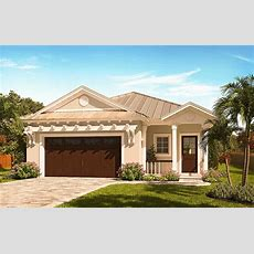 Narrow Lot Florida House Plan  66386we  Architectural