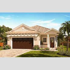 Narrow Lot Florida House Plan  66386we Architectural