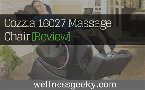 cozzia 16027 review massage chair tested october 2017