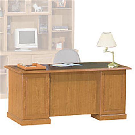 sauder heritage hill executive desk sauder heritage hill executive desk 65 12 wide bethel