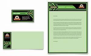 letterhead examples design oil change business card letterhead template design