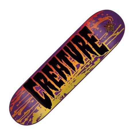 creature skateboard decks uk creature skateboards stain md skateboard deck 8 25