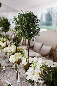 Be All Natural With Topiary Centerpieces B Lovely Events