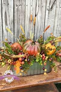 18, Creative, Fall, Harvest, Display, Ideas, U0026, Designs, For, 2021