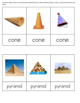 geometric solids real life objects  part montessori
