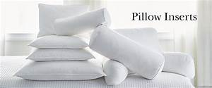 Bolster pillow inserts the company store for Company store pillow inserts