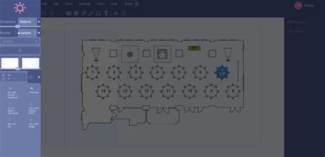 event diagramming event floor plan software