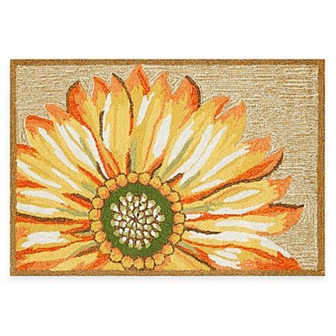 Sunflower Doormat by Trans Frontporch Sunflower Accent Rug Bed Bath
