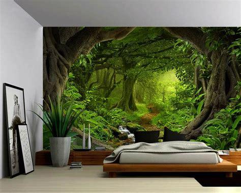 peel stick mural  adhesive wallpaper fantasy