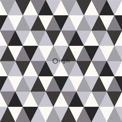 papier peint intiss 233 impression 224 la soie lignes graphiques noir et blanc origin luxury
