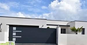 Portail De Maison : pr f rence portail maison design dm75 montrealeast ~ Premium-room.com Idées de Décoration