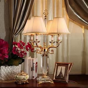 Deluxe, European, Crystal, Desk, Lamp, Living, Room, Air, Decoration, Led, Desk, Lamp, Reading, Room, Bedroom