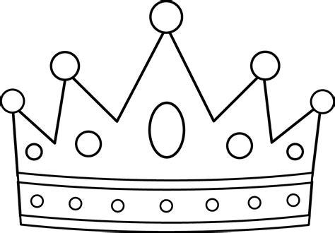 crown color los dibujos para colorear dibujo de corona para colorear