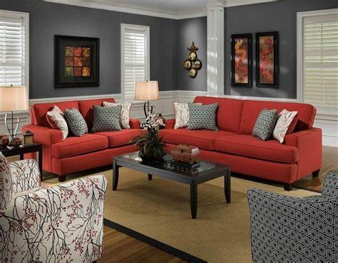 9 fotos de decoraci 243 n de salas en rojo