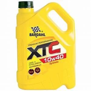 Huile Voiture Diesel : huile moteur bardahl xtc 10w40 essence et diesel 5 l ~ Medecine-chirurgie-esthetiques.com Avis de Voitures