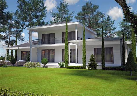 facade cuisine pas cher villa contemporaine 150 m2 etage modèle pinede salon