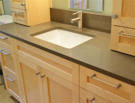 china polished veining color quartz bathroom tops
