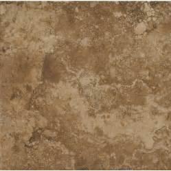 shop stonepeak ceramics inc 18 in x 18 in durango noce glazed porcelain floor tile at lowes com