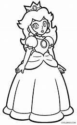Peach Princess Coloring Pages Mario Super Printable Daisy Bros Cool2bkids Colouring Party Sheets Comments Leave Coloringhome sketch template