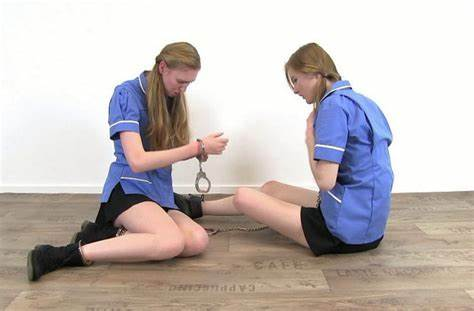 These Handcuffs Are Really Sore To Escape Joi