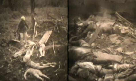 First Footage Shows Wwii Japan Army Killing Sex Slaves Daily Mail Online