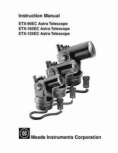 Download Free Pdf For Meade Etx