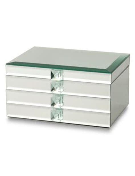 rectangular mirrored large jewellery box ms