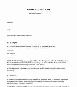 Mietvertrag Kostenlos Pdf : mietvertrag garage stellplatz carport vorlage ~ Frokenaadalensverden.com Haus und Dekorationen