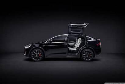 Tesla Electric Suv Tablet Monitor Safest Quickest