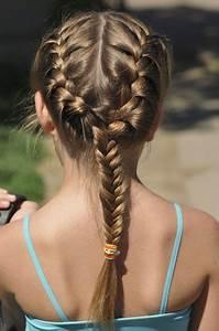 Coiffure Enfant Tresse : coiffures de mariage pour petite fille l 39 express styles ~ Melissatoandfro.com Idées de Décoration