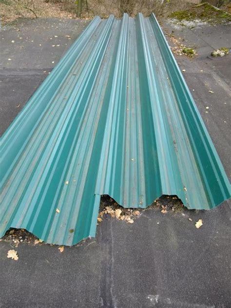 trapezblech 8 m lang trapezblech selbsttragend wellblech dach 7m lang neu 135 420 in lauf eisen bleche rohre